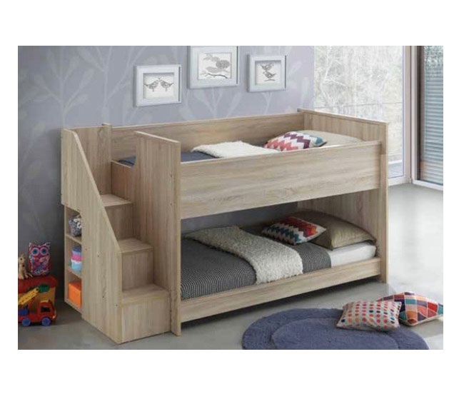 Aurora Single Loft Bed With Deluxe Stair Case Furniture Adelaide