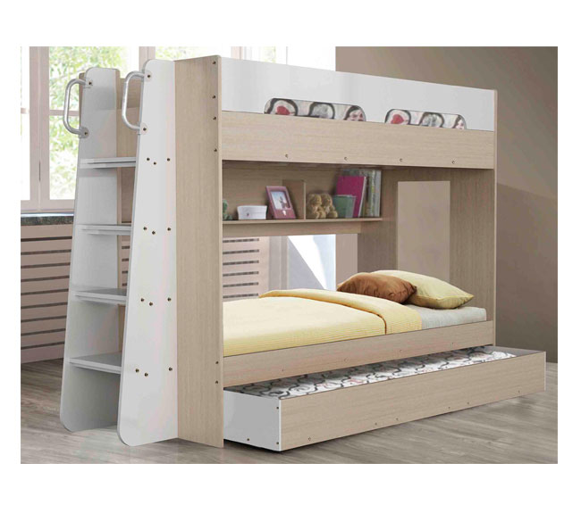 Awesome Melbourne Trio Single Bunk Beds Furniture Adelaide Gmtry Best Dining Table And Chair Ideas Images Gmtryco